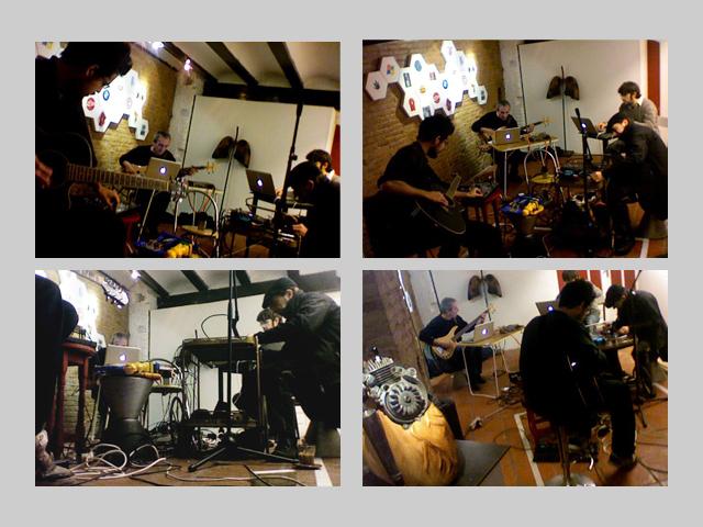 LOM (La Orquesta Mundana) @ La Clínica Mundana 23ene 2011
