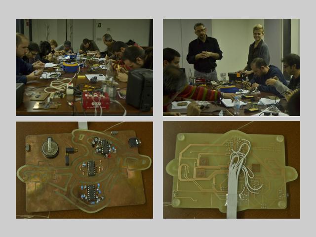 Dirty Electronics workshop @ OCCC 3dic 2011