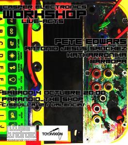 antonio jesus sanchez pete edwards toy divixion noise android free electroacoustic improvisation