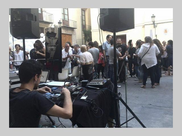 antonio jesus sanchez festival incubarte free electroacoustic improvisation